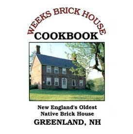 Weeks Brick House Cookbook