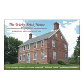 Weeks Brick House Postcards